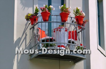 Balcony extension: the dream of free space