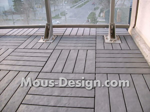 Outdoor flooring: Floor covering for terrace or balcony