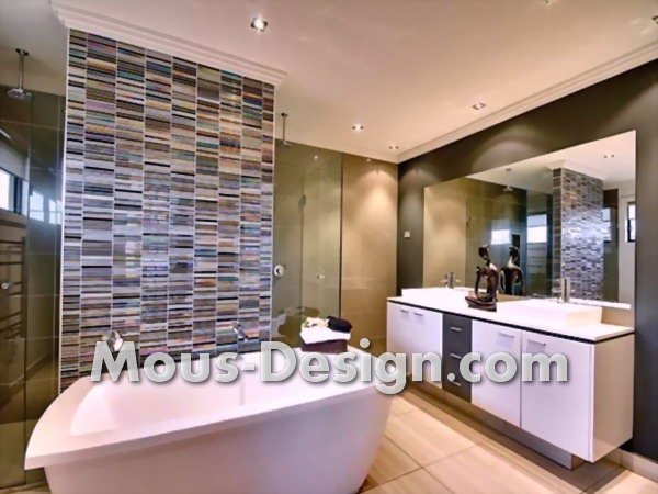Designing the bathroom with tiles - the 5 best ideas
