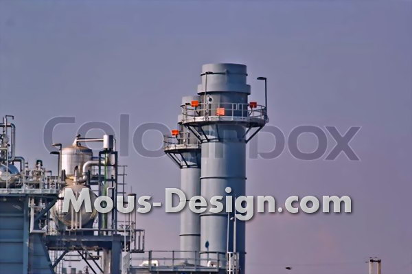 Combined heat and power plant as heat and electricity supplier
