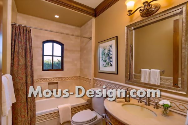 Bathroom lighting - the most beautiful options