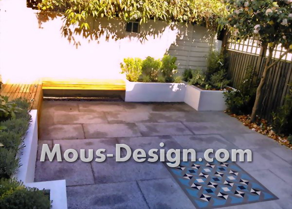 Garden design with light - clever lighting