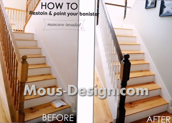 Staircase lighting - safe and stylish appearance