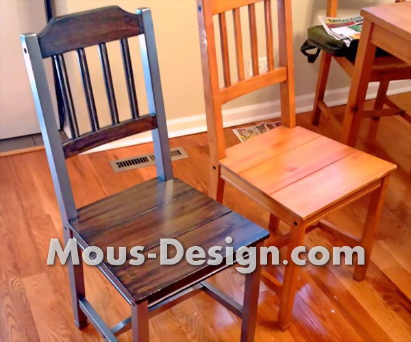 Refurbishing old chairs - step by step