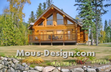 Log Cabin - cozy and modern