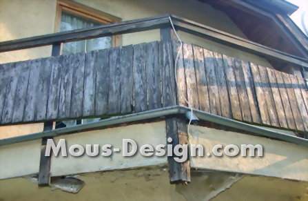 Balcony refurbished and beautified in Teltow